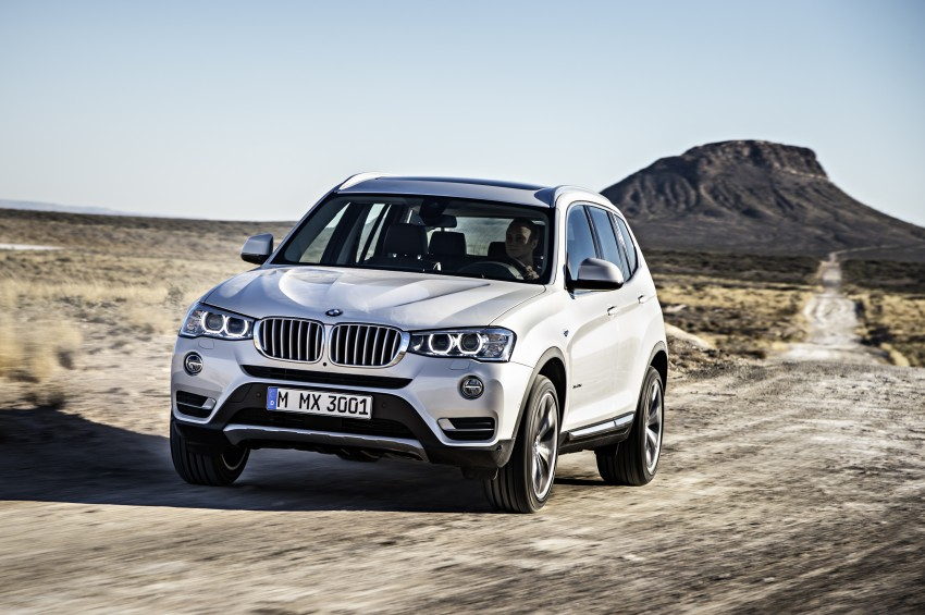 2014 BMW X3 LCI unveiled – the F25 gets facelifted Image #226640