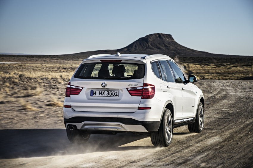 2014 BMW X3 LCI unveiled – the F25 gets facelifted Image #226625