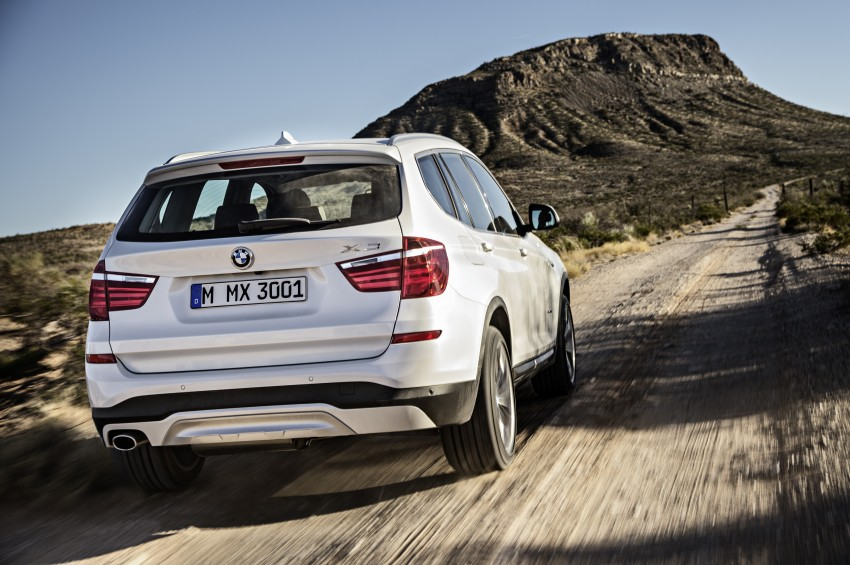2014 BMW X3 LCI unveiled – the F25 gets facelifted Image #226632