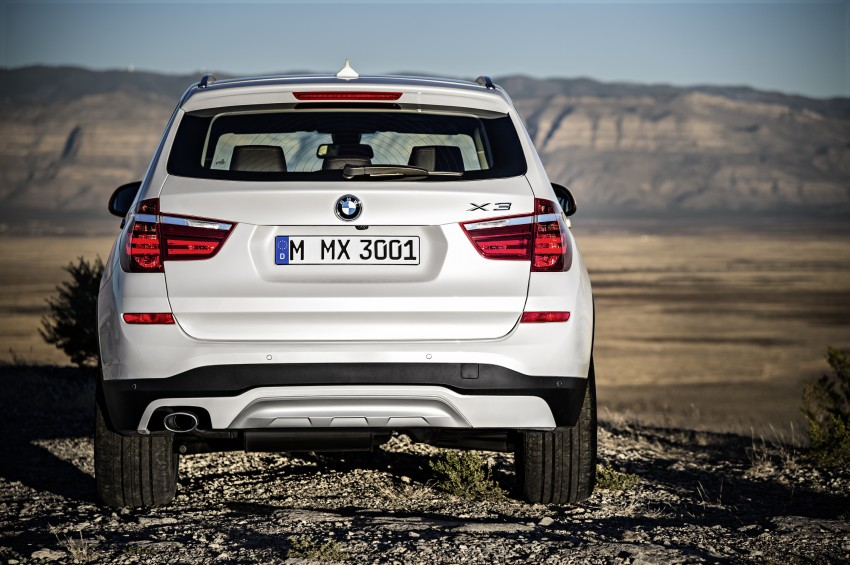 2014 BMW X3 LCI unveiled – the F25 gets facelifted Image #226641