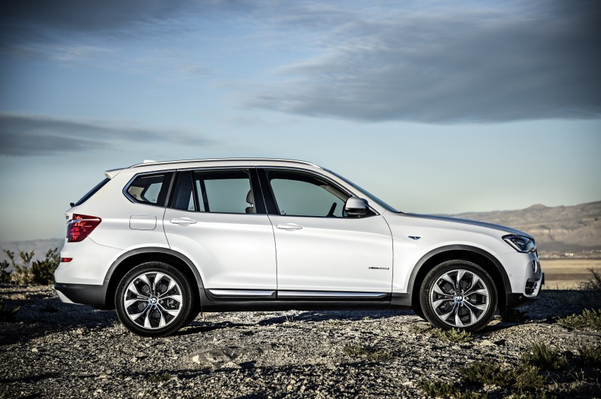 2014 BMW X3 LCI unveiled – the F25 gets facelifted Image #226635
