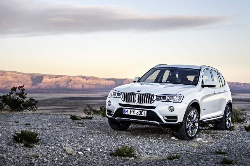 2014 BMW X3 LCI unveiled – the F25 gets facelifted Image #226644