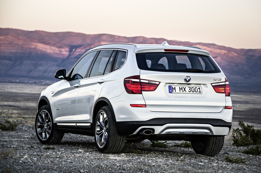 2014 BMW X3 LCI unveiled – the F25 gets facelifted Image #226643