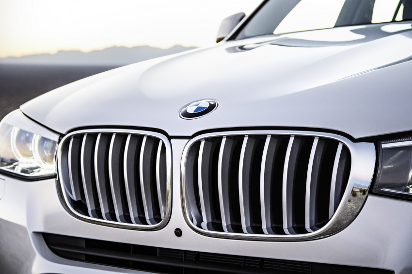 2014 BMW X3 LCI unveiled – the F25 gets facelifted Image #226596