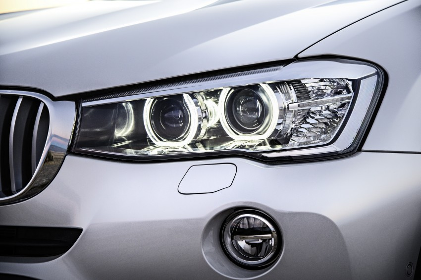 2014 BMW X3 LCI unveiled – the F25 gets facelifted Image #226599