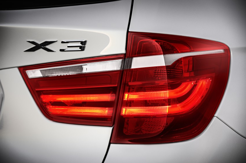 2014 BMW X3 LCI unveiled – the F25 gets facelifted Image #226602