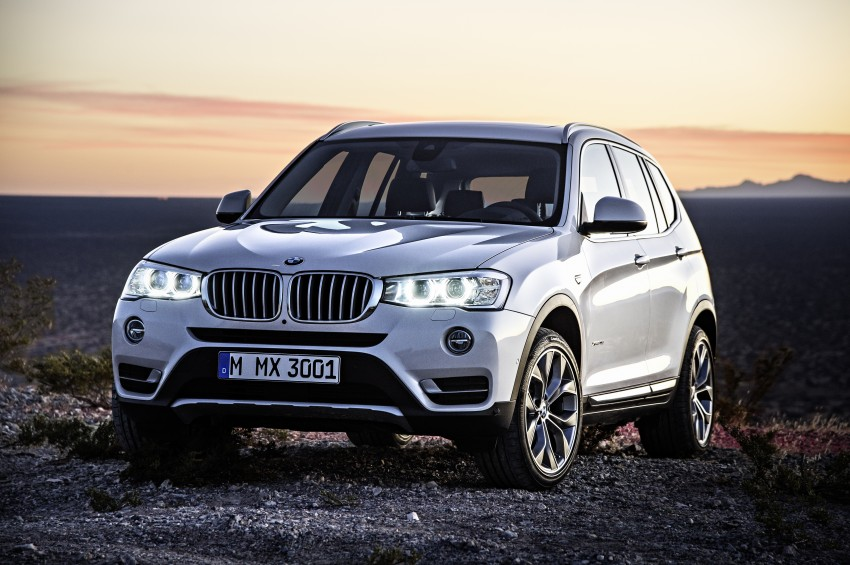 2014 BMW X3 LCI unveiled – the F25 gets facelifted Image #226637