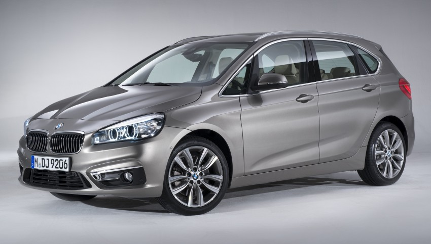 F45 BMW 2 Series Active Tourer – scoring some firsts Image #228505