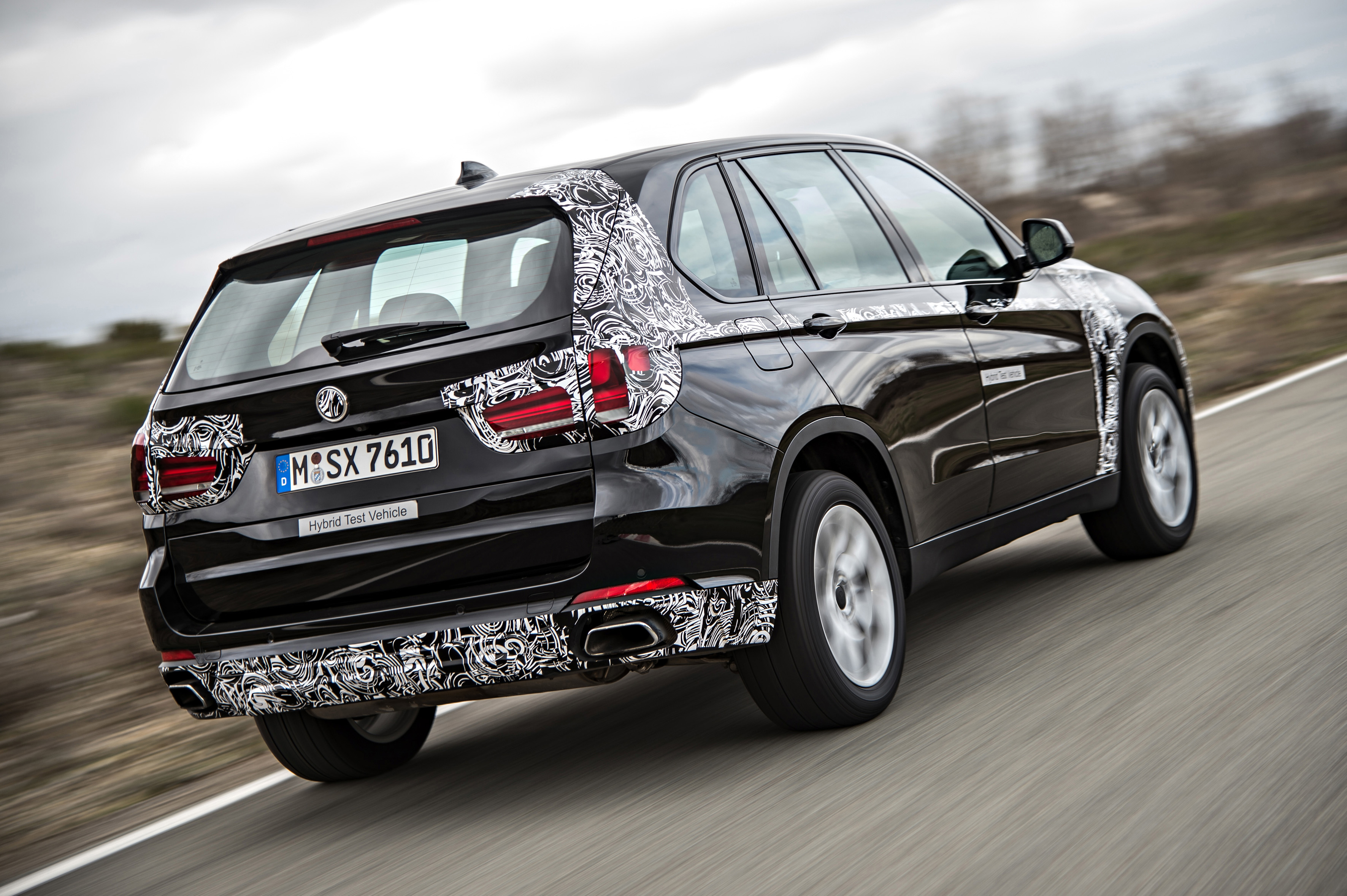 BMW X5 eDrive – official 'spyshots' from media event Paul ...