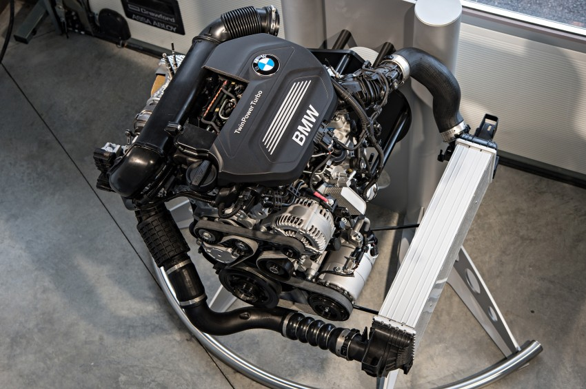 BMW's new B48 2.0 litre four-cylinder TwinPower Turbo engine to produce up to 255 hp and 400 Nm Image #230476