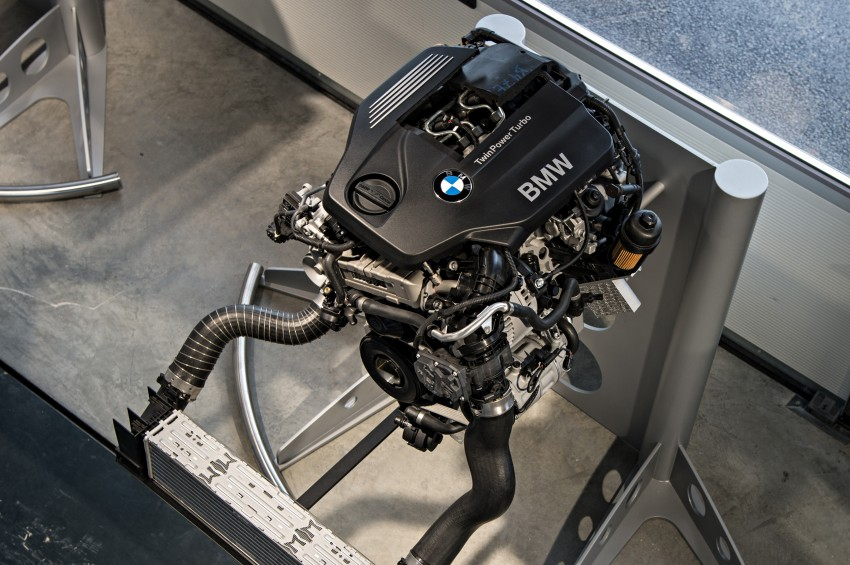BMW's new B48 2.0 litre four-cylinder TwinPower Turbo engine to produce up to 255 hp and 400 Nm Image #230477