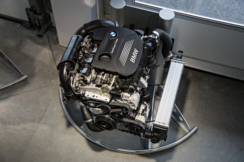 BMW's new B48 2.0 litre four-cylinder TwinPower Turbo engine to produce up to 255 hp and 400 Nm Image #230478
