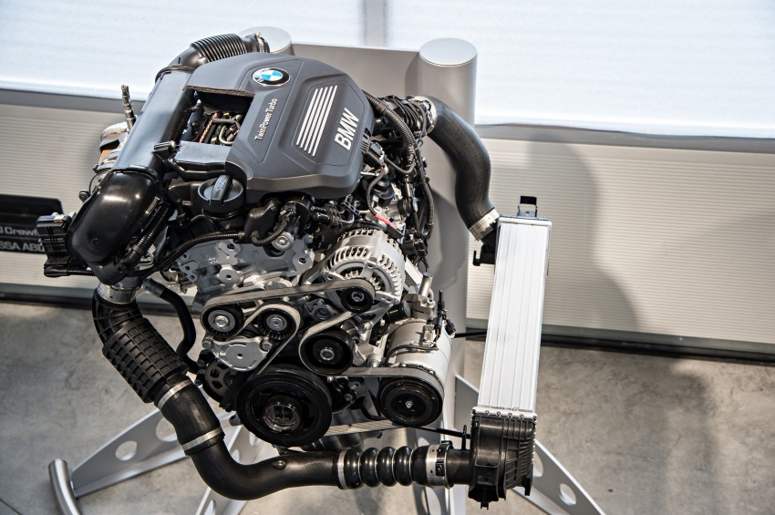 BMW's new B48 2.0 litre four-cylinder TwinPower Turbo engine to produce up to 255 hp and 400 Nm Image #230475