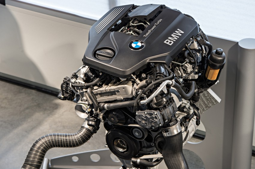 BMW's new B48 2.0 litre four-cylinder TwinPower Turbo engine to produce up to 255 hp and 400 Nm Image #230467