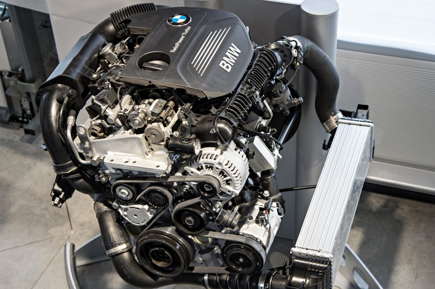 BMW's new B48 2.0 litre four-cylinder TwinPower Turbo engine to produce up to 255 hp and 400 Nm Image #230468