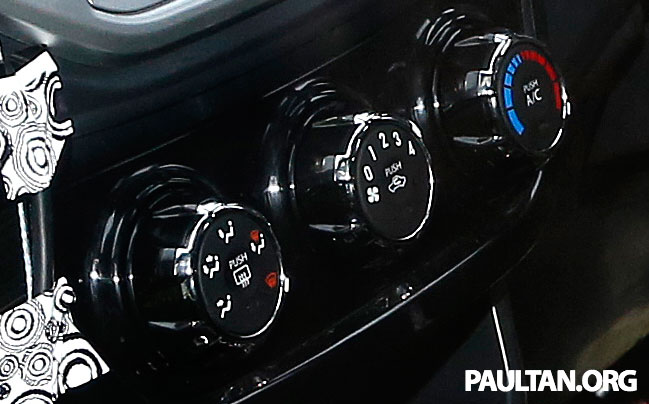 SPYSHOTS: A clearer view of the Proton P2-30A GSC dashboard – first look at non-touchscreen head unit Image #228411