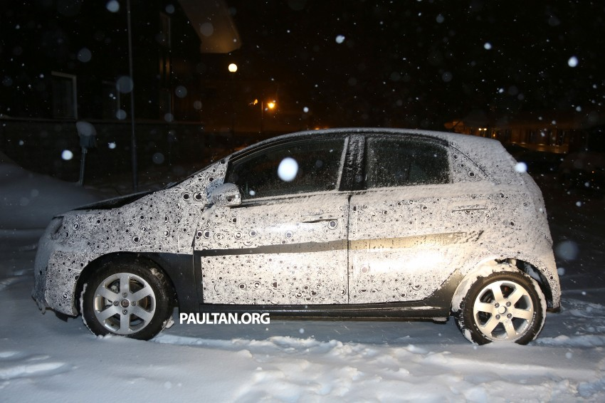 SPYSHOTS: Proton P2-30A Global Small Car – first clear look at the B-segment hatch's interior Image #227220