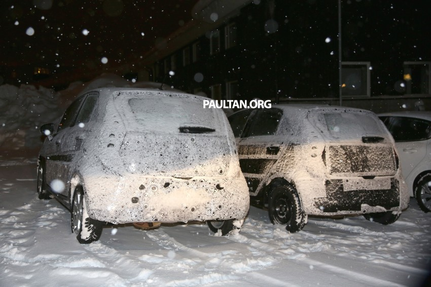 SPYSHOTS: Proton P2-30A Global Small Car – first clear look at the B-segment hatch's interior Image #227223