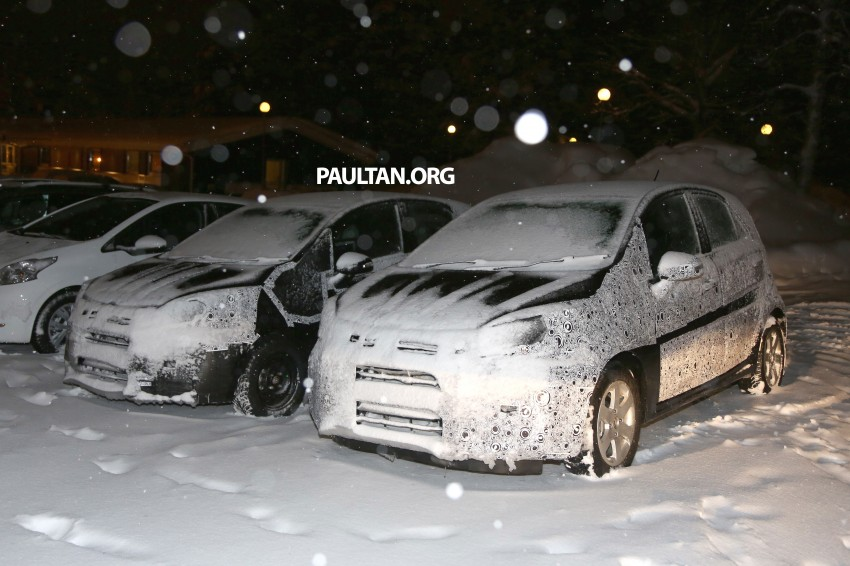 SPYSHOTS: Proton P2-30A Global Small Car – first clear look at the B-segment hatch's interior Image #227226