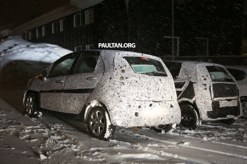 SPYSHOTS: Proton P2-30A Global Small Car – first clear look at the B-segment hatch's interior Image #227234