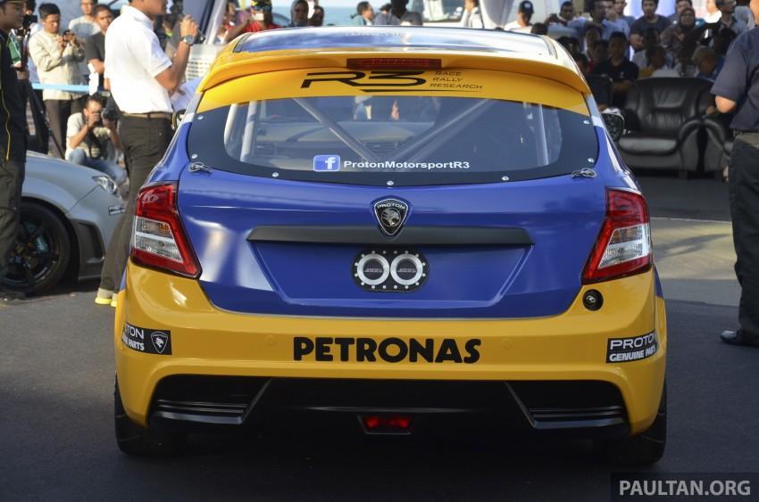 Proton R3 Suprima S Malaysian Touring Car unveiled Image #227191