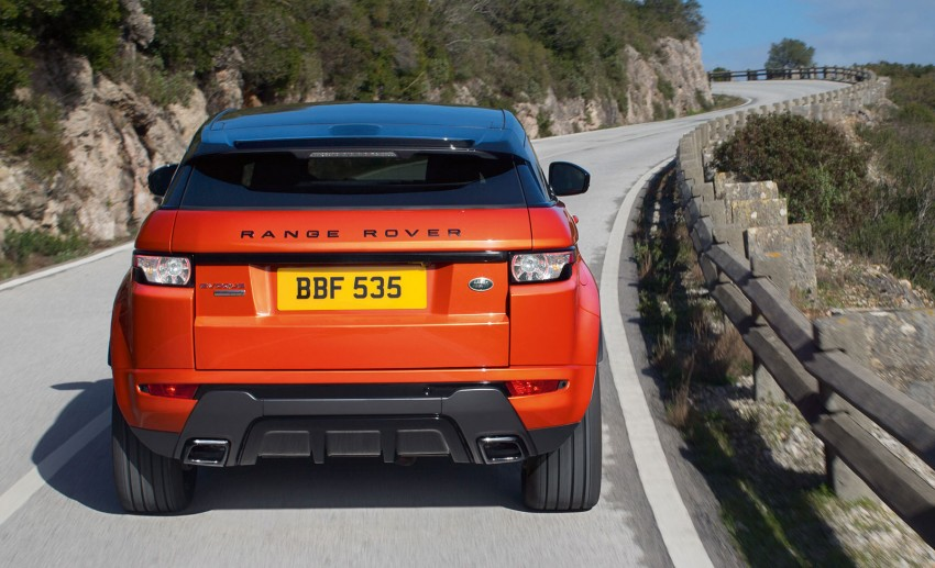 Range Rover Evoque Autobiography Dynamic – more power, sportier chassis for the new range-topper Image #229367