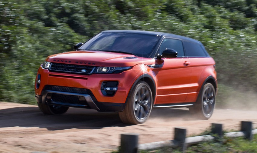 Range Rover Evoque Autobiography Dynamic – more power, sportier chassis for the new range-topper Image #229369