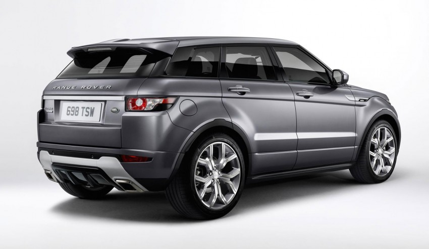 range rover evoque autobiography dynamic more power sportier chassis for the new range topper. Black Bedroom Furniture Sets. Home Design Ideas
