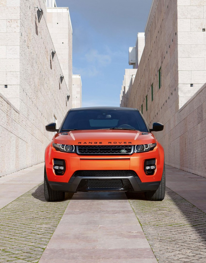 Range Rover Evoque Autobiography Dynamic – more power, sportier chassis for the new range-topper Image #229377