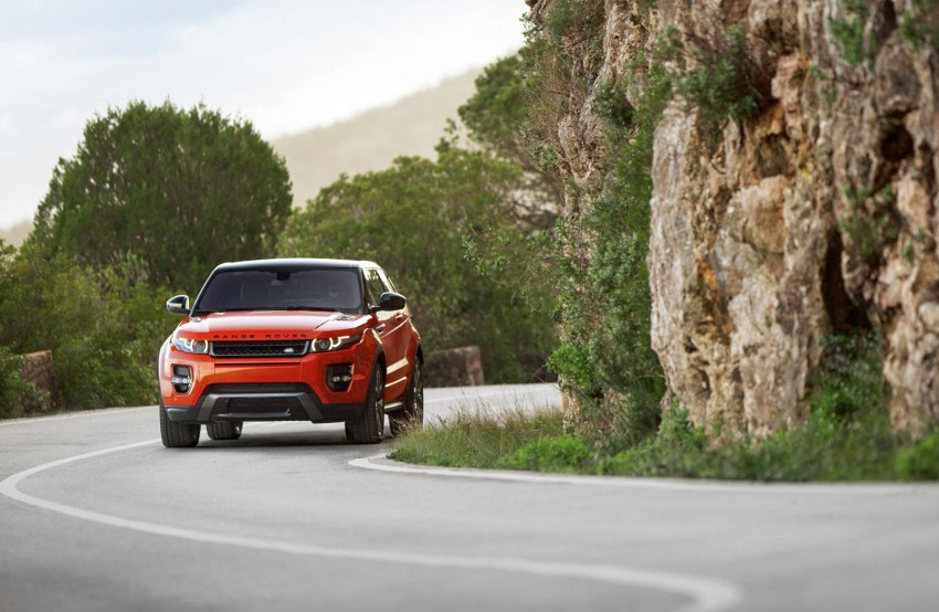 Range Rover Evoque Autobiography Dynamic – more power, sportier chassis for the new range-topper Image #229378