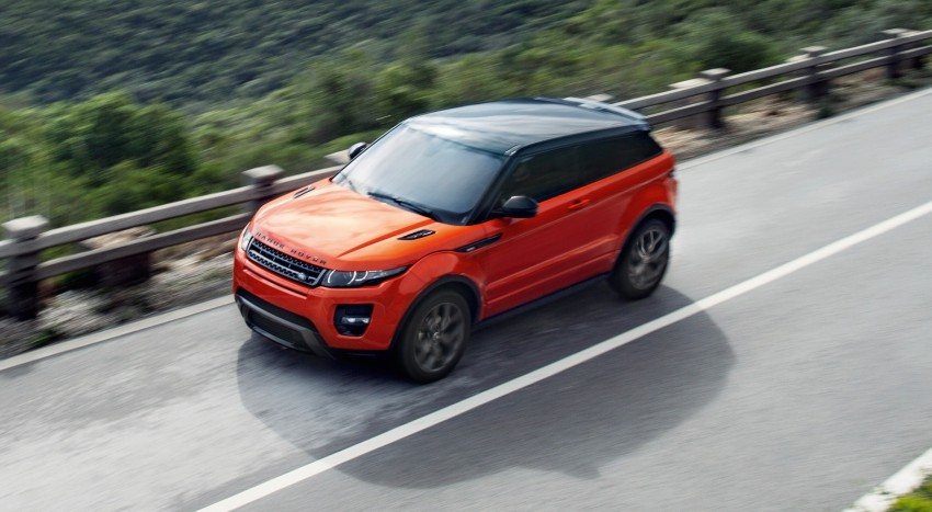 Range Rover Evoque Autobiography Dynamic – more power, sportier chassis for the new range-topper Image #232164