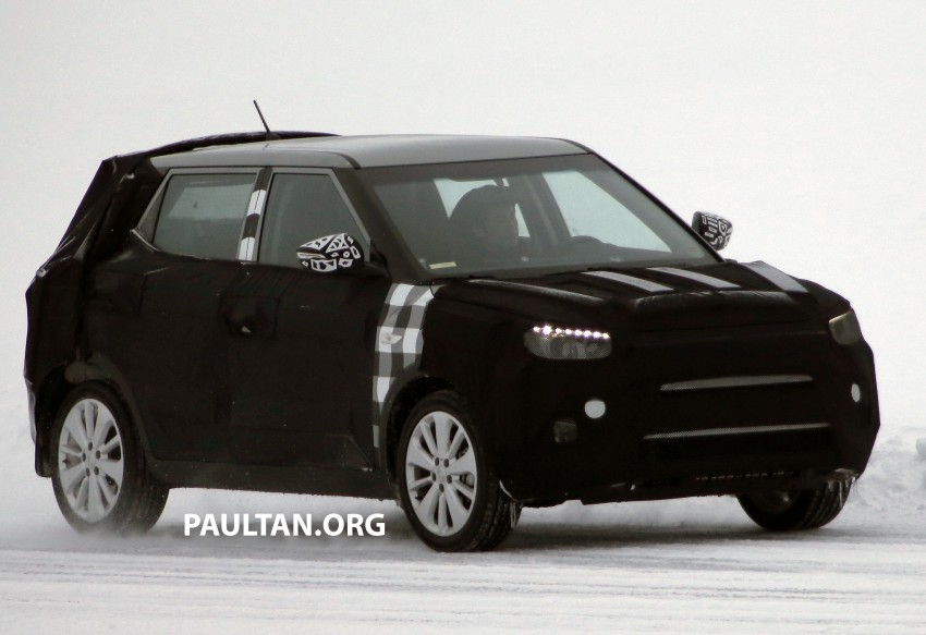 SPIED: SsangYong X100 B-segment crossover spotted Image #229478