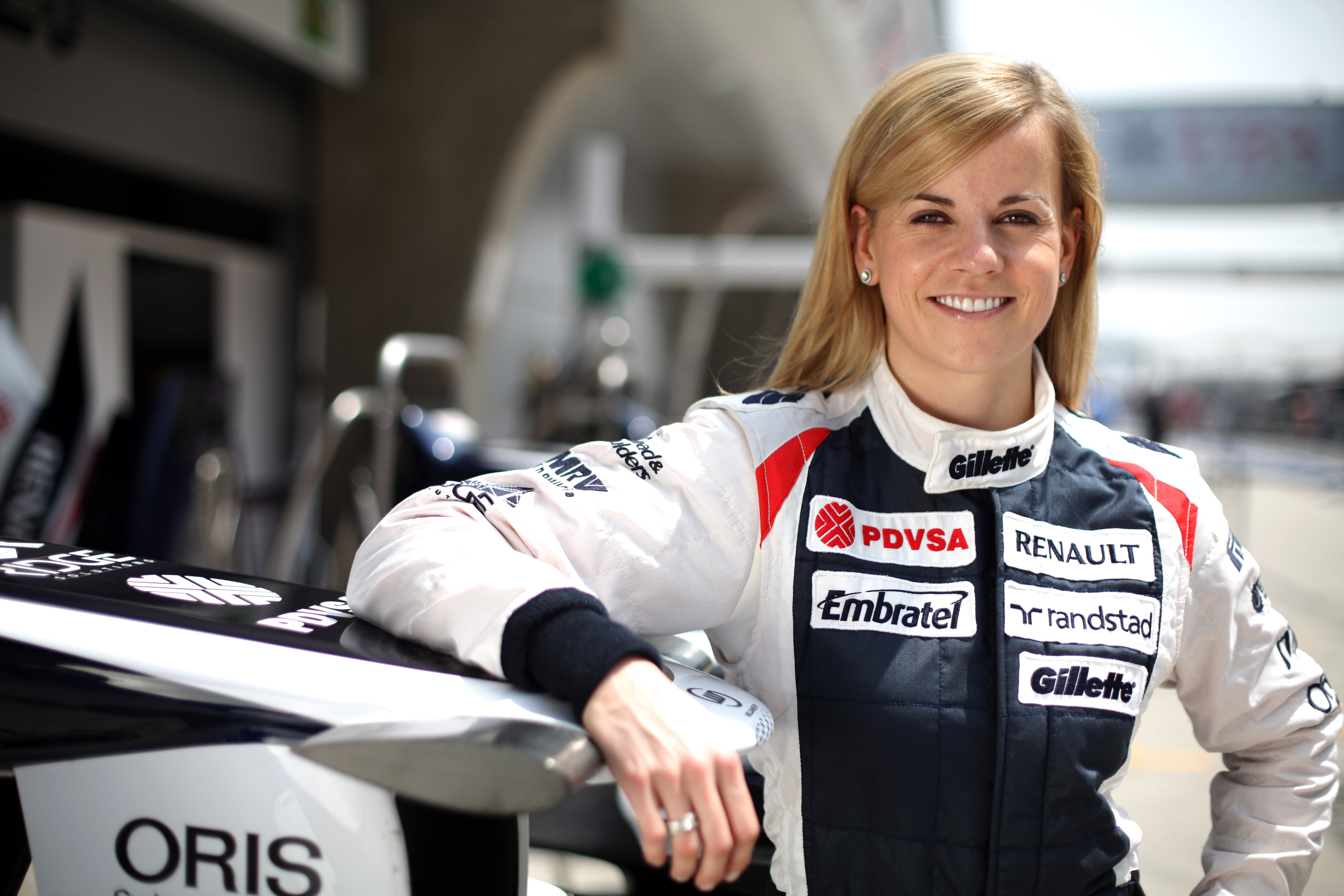 susie wolff to participate in f1 practice sessions