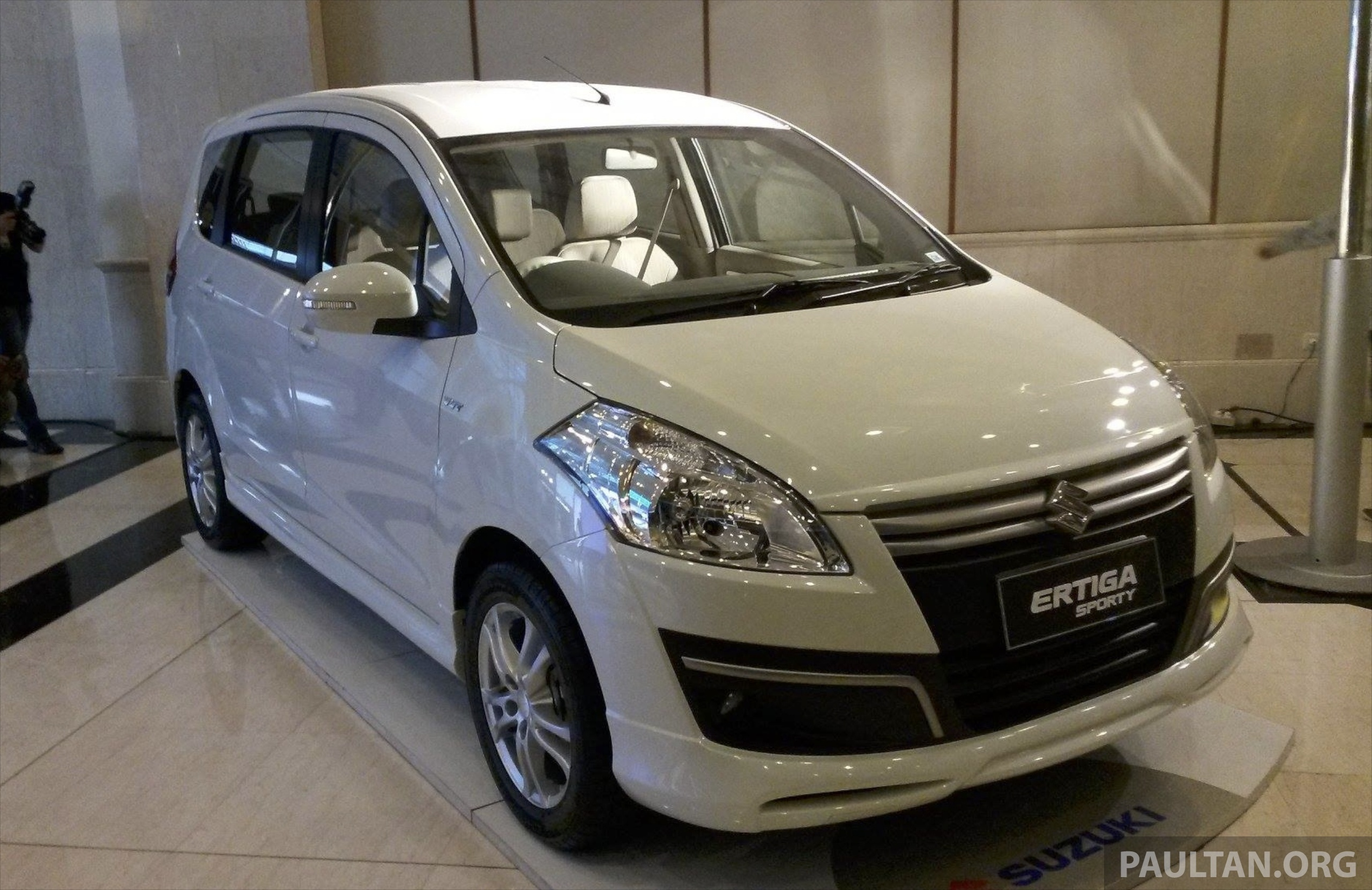 Suzuki Ertiga Sporty Introduced In Indonesia