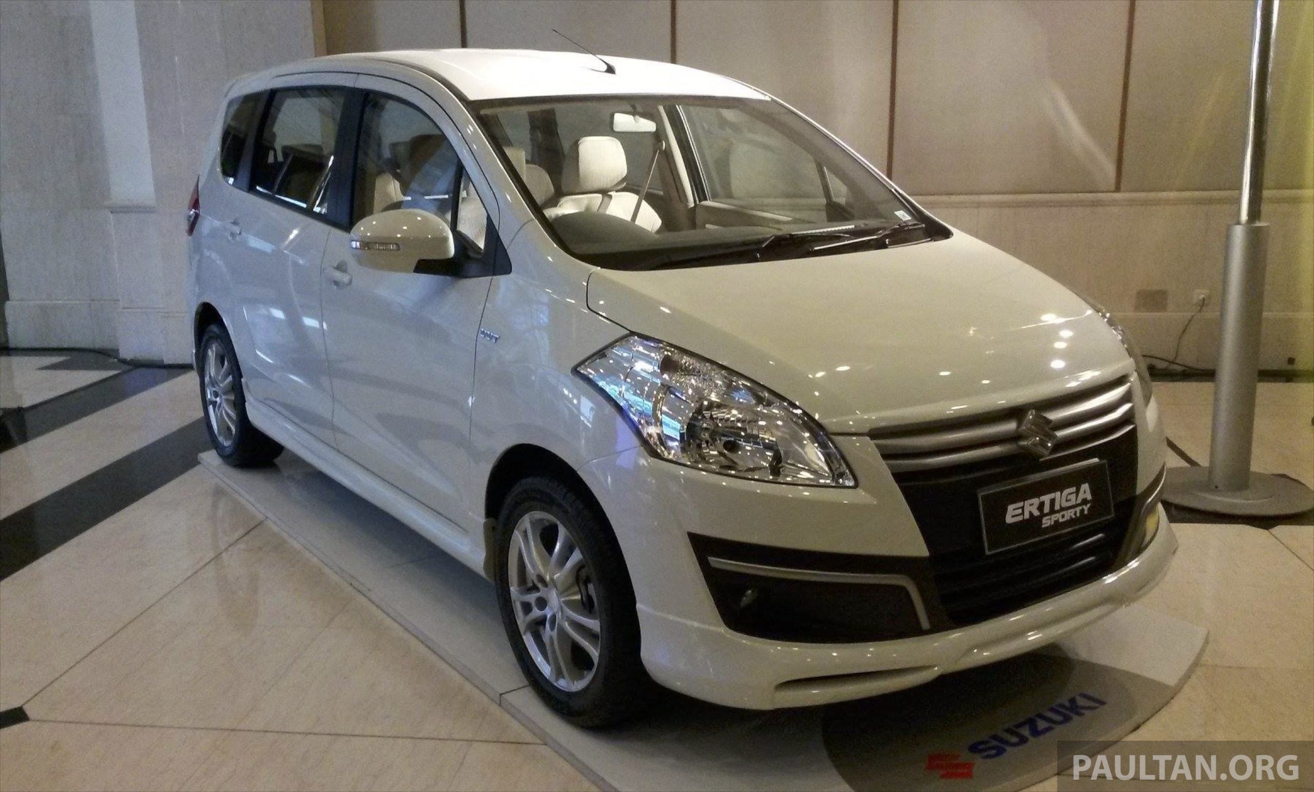 suzuki ertiga sporty introduced in indonesia image 229575
