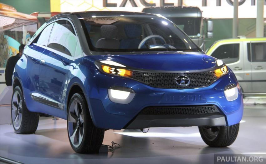 Tata Nexon concept – shaping a modern compact SUV Image #227337