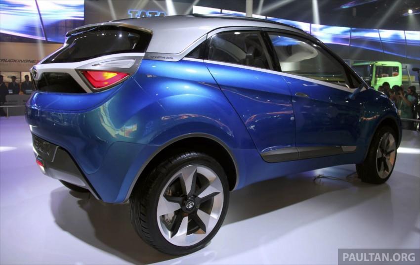 Tata Nexon concept – shaping a modern compact SUV Image #227339