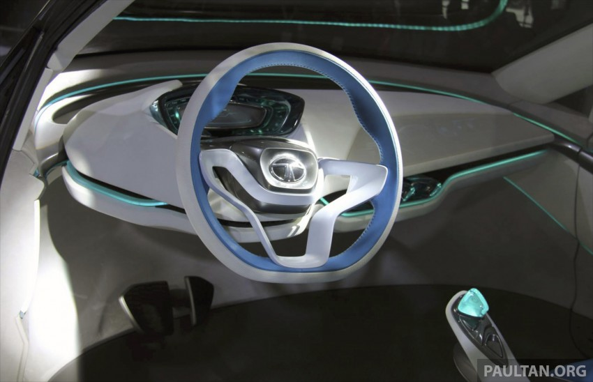 Tata Nexon concept – shaping a modern compact SUV Image #227343