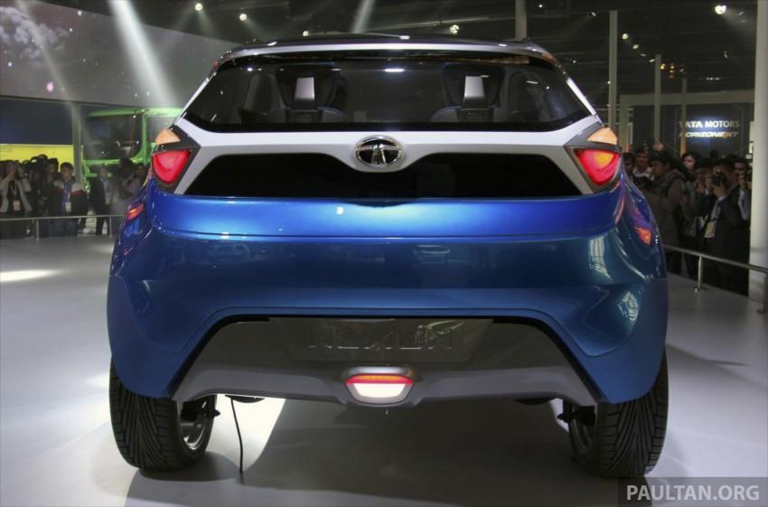 Tata Nexon concept – shaping a modern compact SUV Image #227344