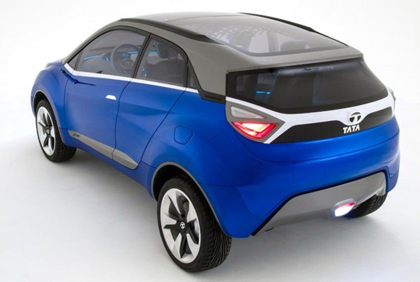Tata Nexon concept – shaping a modern compact SUV Image #227352