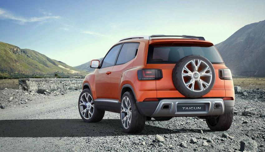 Volkswagen Taigun SUV Concept further developed Image #227243