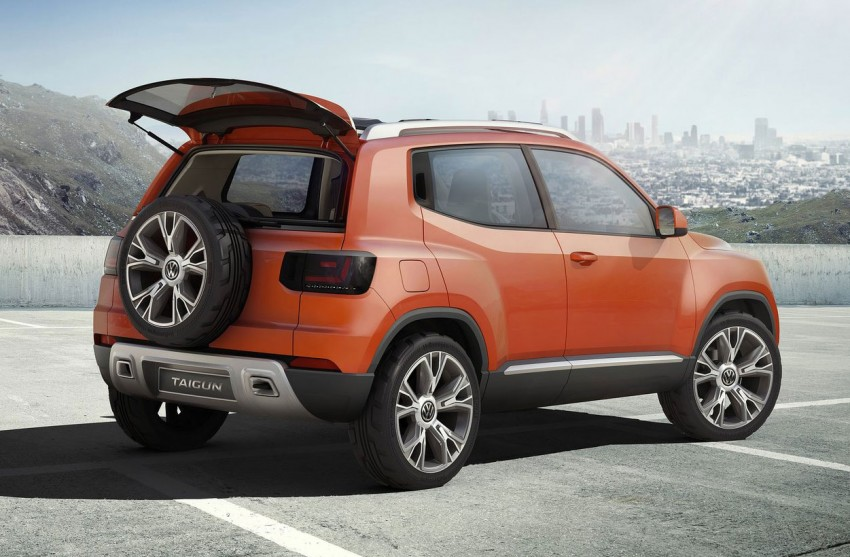 Volkswagen Taigun SUV Concept further developed Image #227244