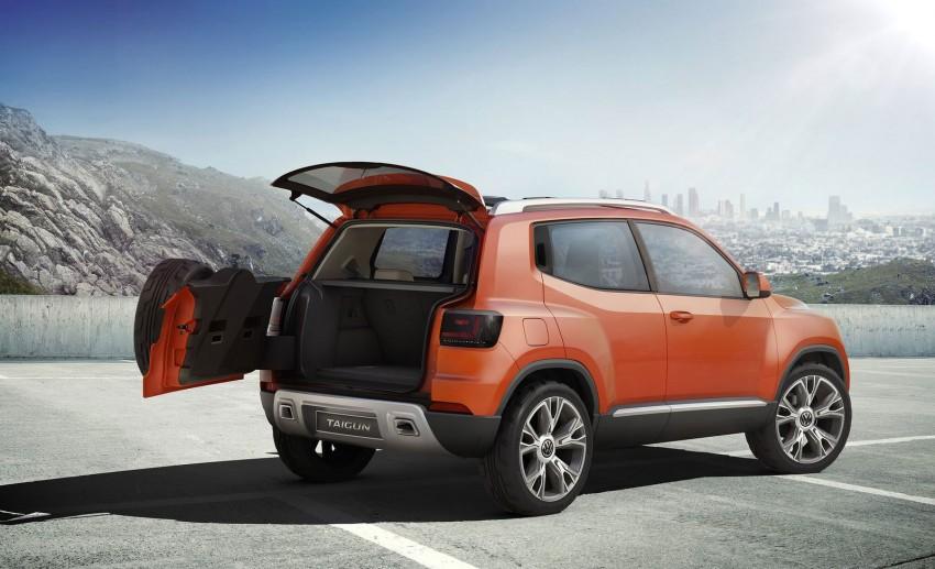 Volkswagen Taigun SUV Concept further developed Image #227245