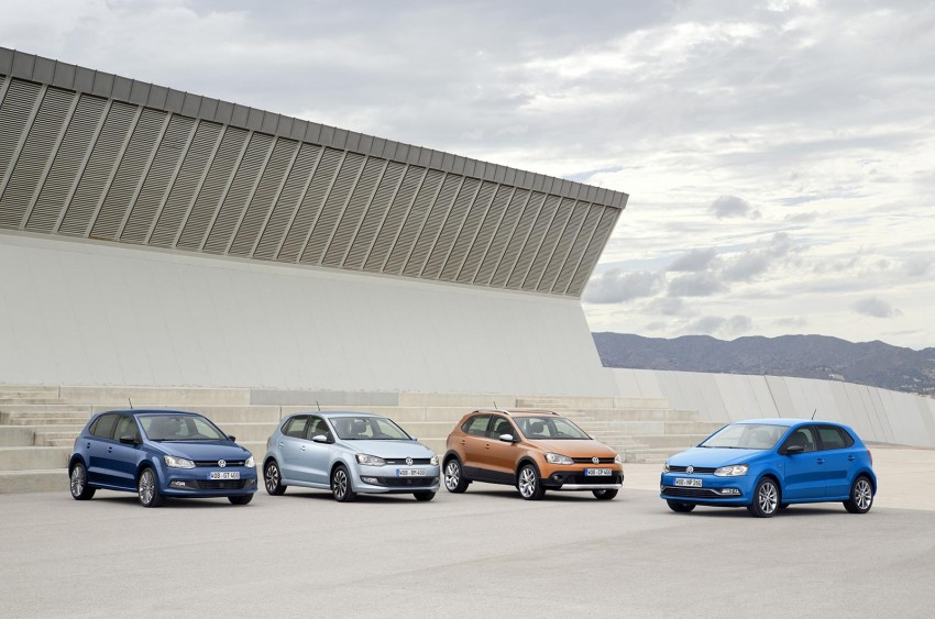 New VW CrossPolo, BlueMotion, BlueGT and R-Line Image #231009