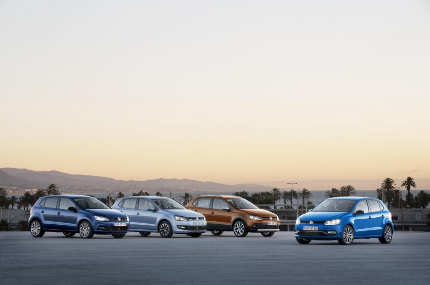 New VW CrossPolo, BlueMotion, BlueGT and R-Line Image #231010