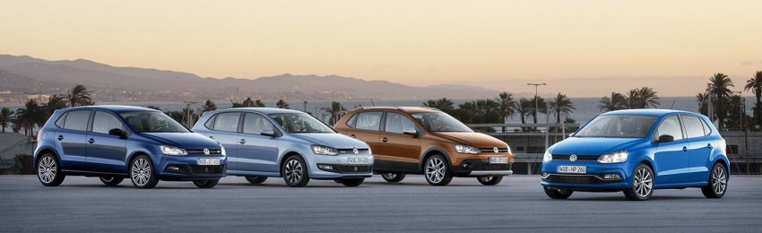 New VW CrossPolo, BlueMotion, BlueGT and R-Line Image #231018
