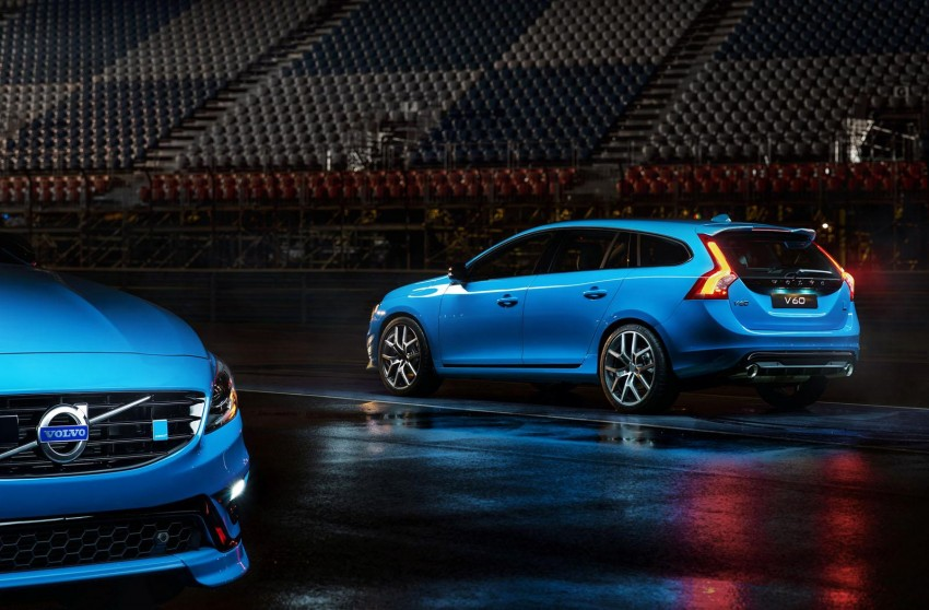 Volvo S60 and V60 Polestar unveiled – 345 hp, 500 Nm Image #227326