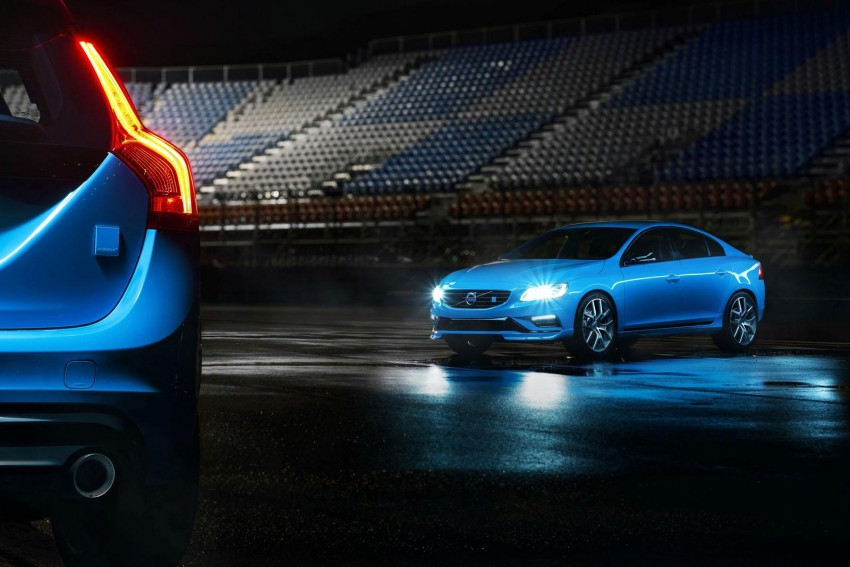 Volvo S60 and V60 Polestar unveiled – 345 hp, 500 Nm Image #227327