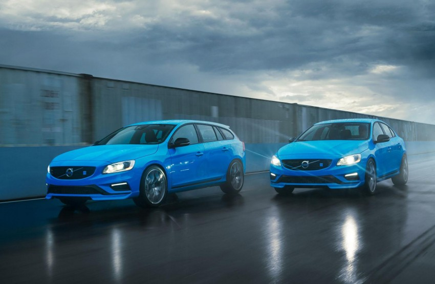Volvo S60 and V60 Polestar unveiled – 345 hp, 500 Nm Image #227329