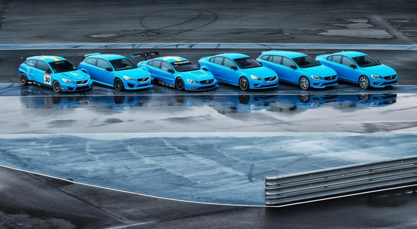Volvo S60 and V60 Polestar unveiled – 345 hp, 500 Nm Image #227330